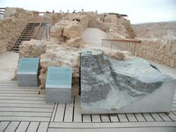 Aluminum cast models of Masada