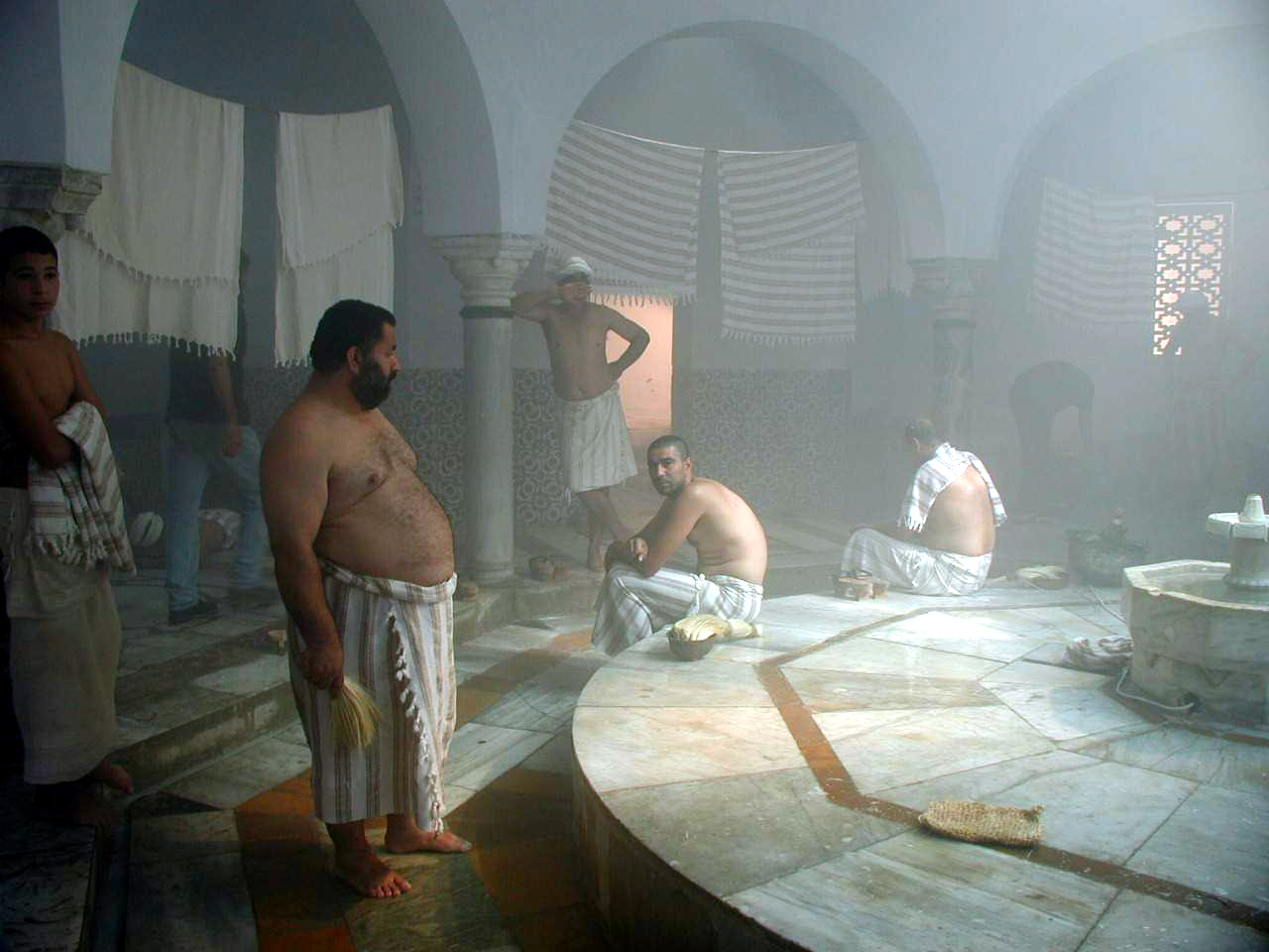 The movie on the Hammam