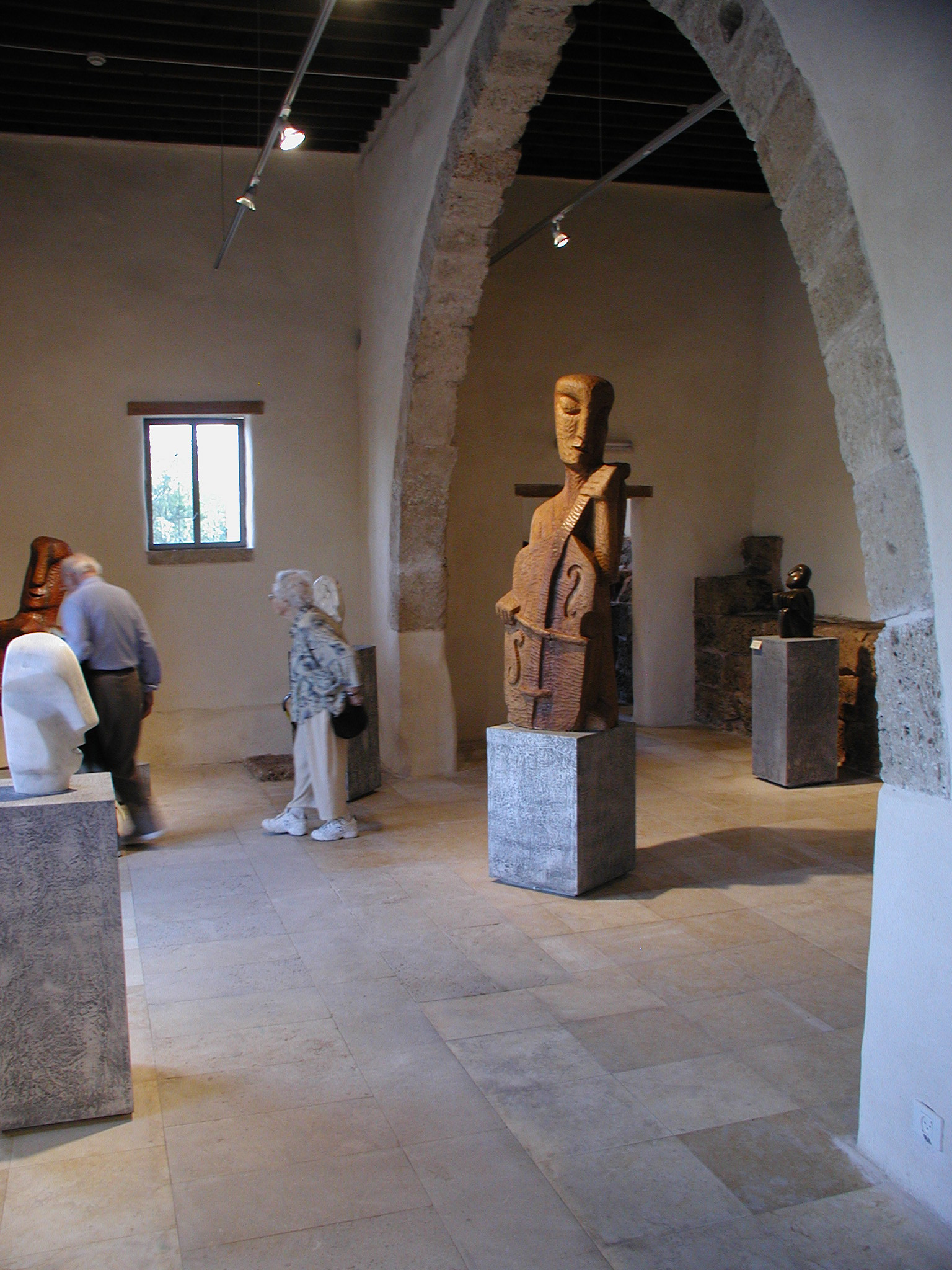 The Sculptures exhibition hall