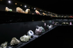 The minerals collection room