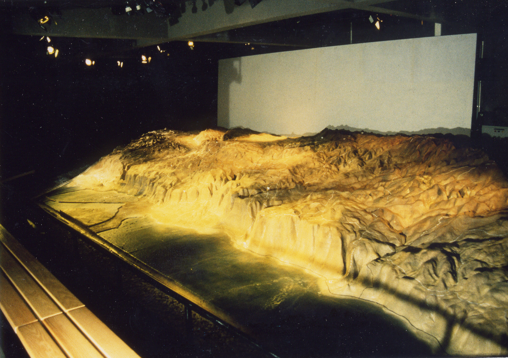 Model of the desert of Arad and the