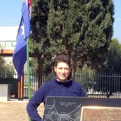 British military attaché Roni Watser