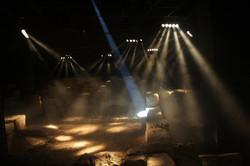 Dance of light beams