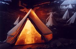 Tent encampment