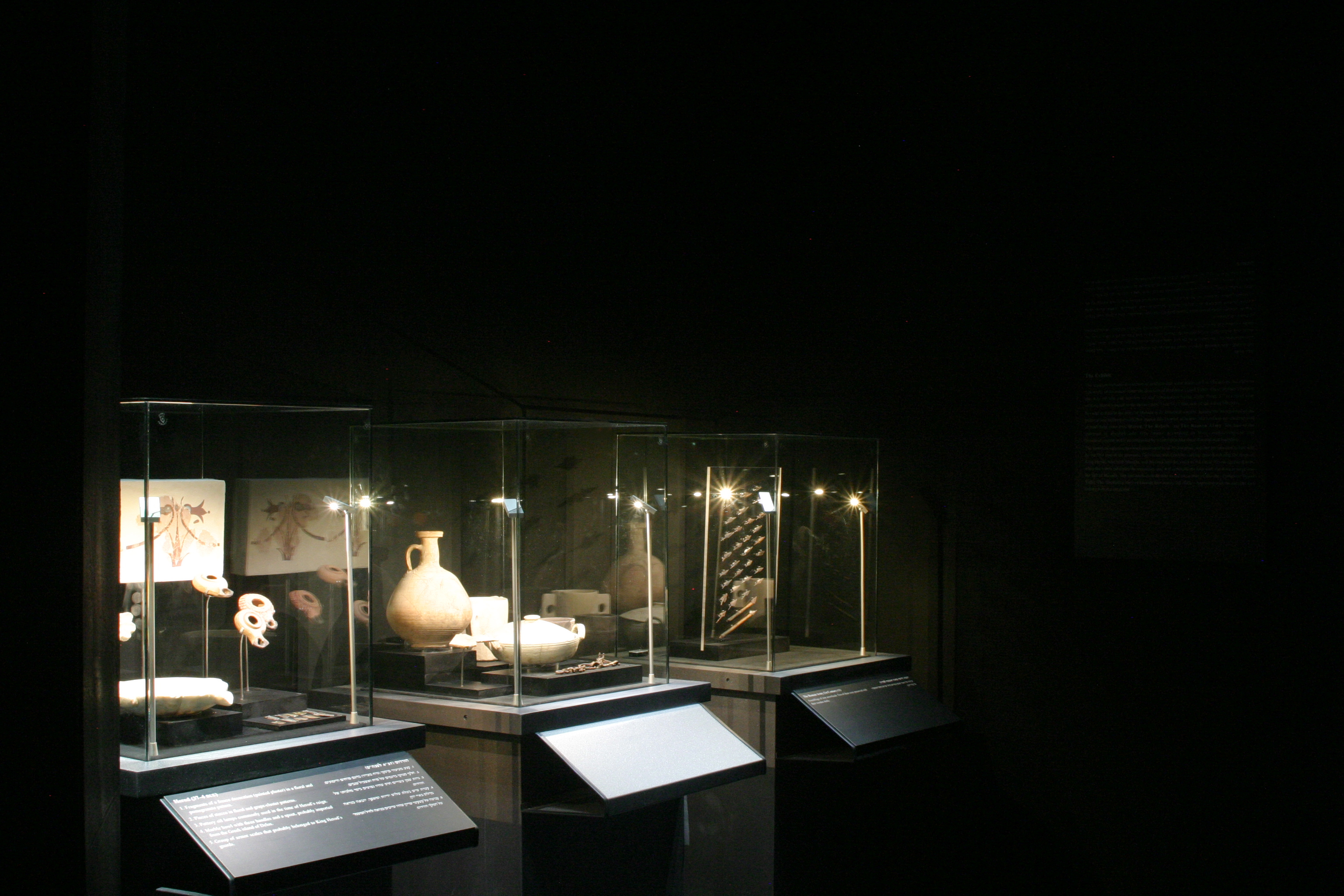 Archaeological display