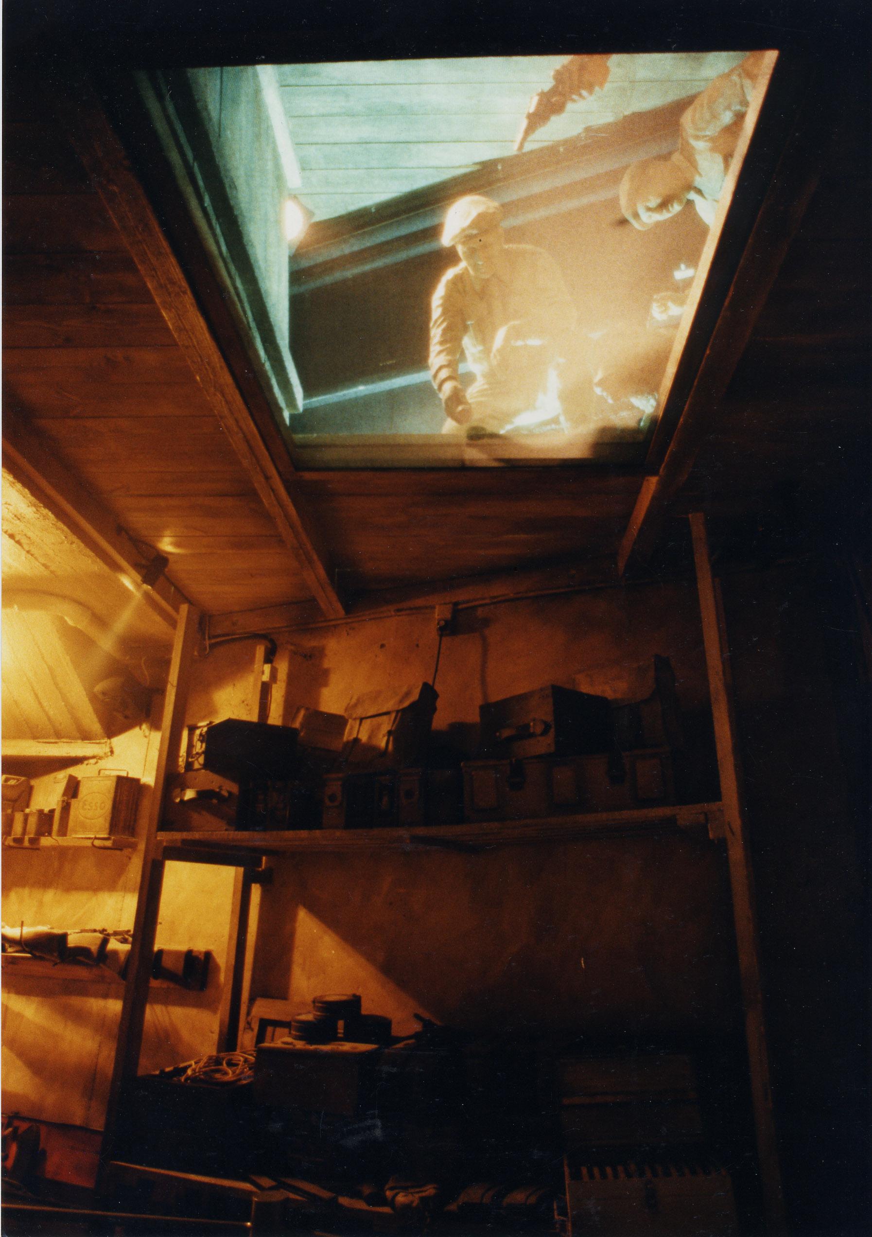 Underground bunker