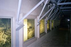 Silk screened printed lighted panels