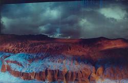 The desert model with the audio visu