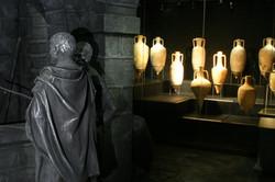 Amphoras in Cesarea harbor