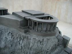 Aluminum cast models of King Herod's