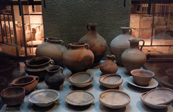 Display of archaeological artifacts