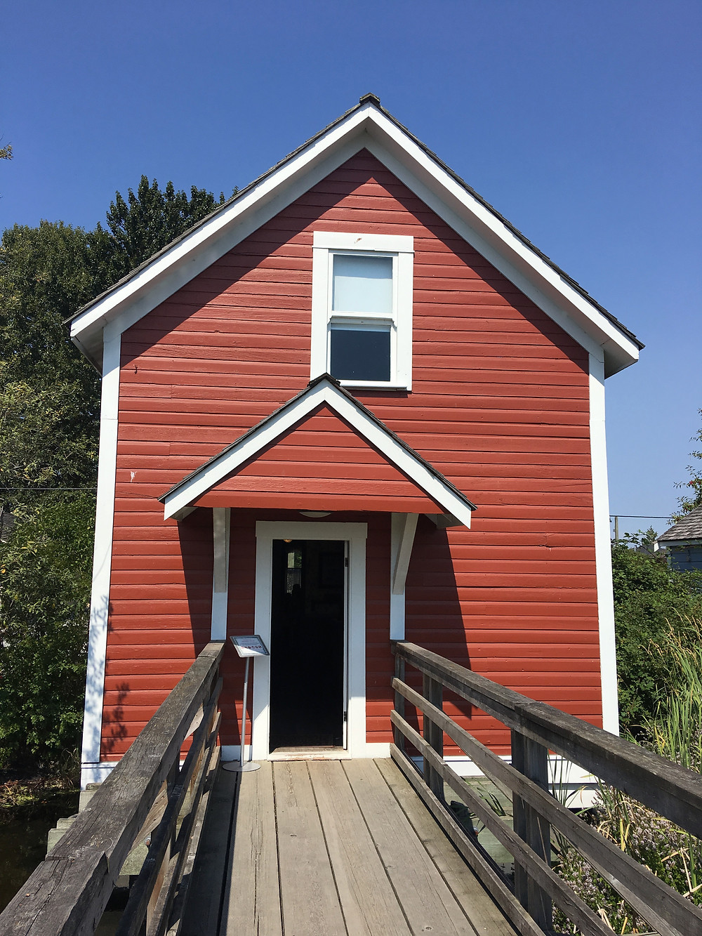 Murchison House where the Sisters of Atonement taught, on site at Britannia Shipyards National Historic Site, Photo by Lori Sherritt-Fleming
