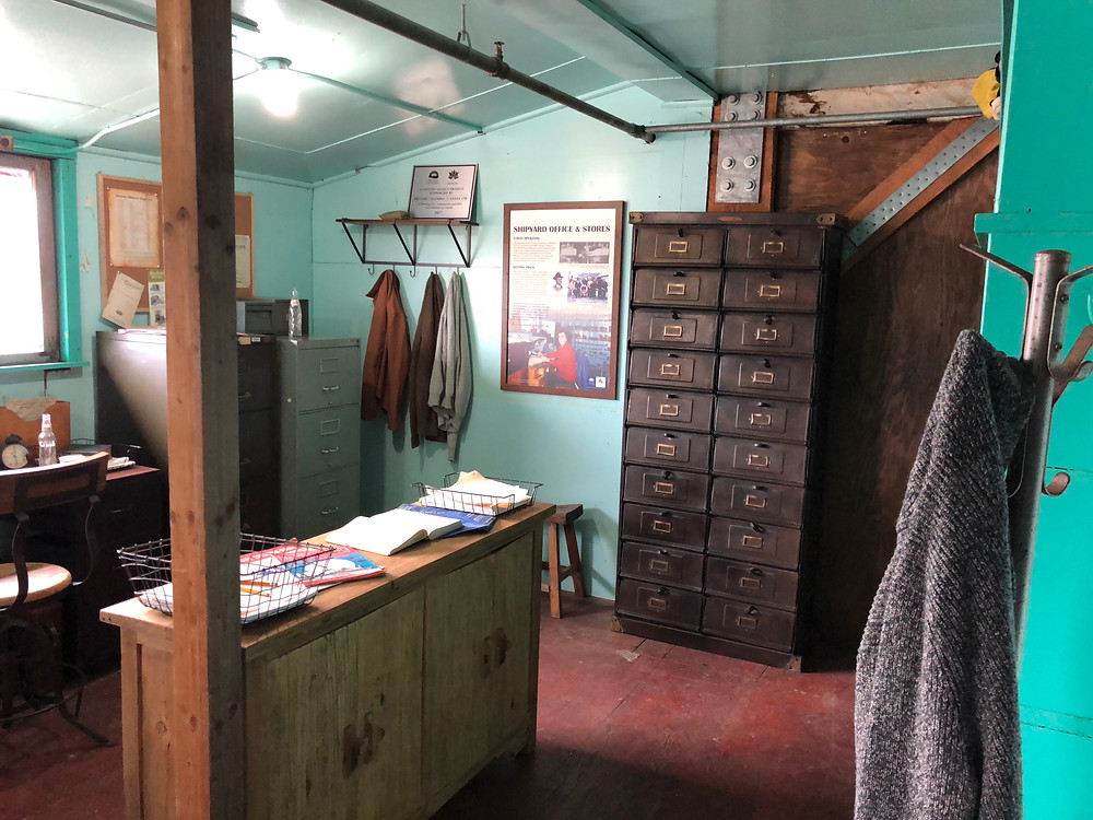 Photo of the Britannia Shipyards National Historic Site's Office, by Michael Fleming
