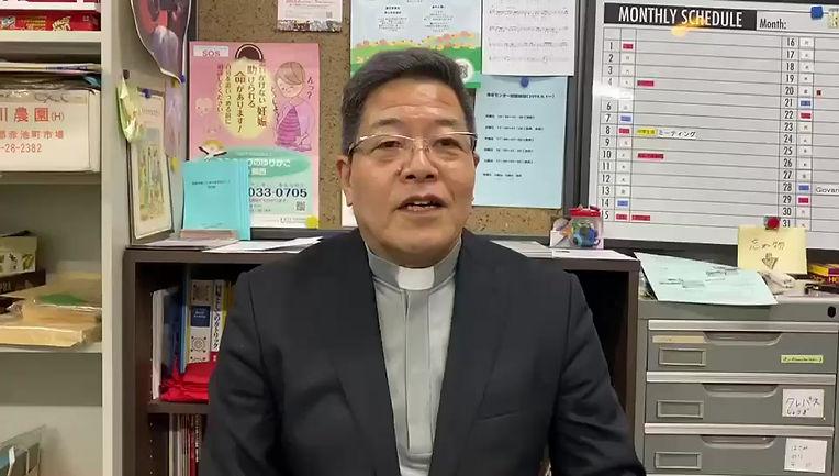 京都教区大塚司教様の応援メッセージ