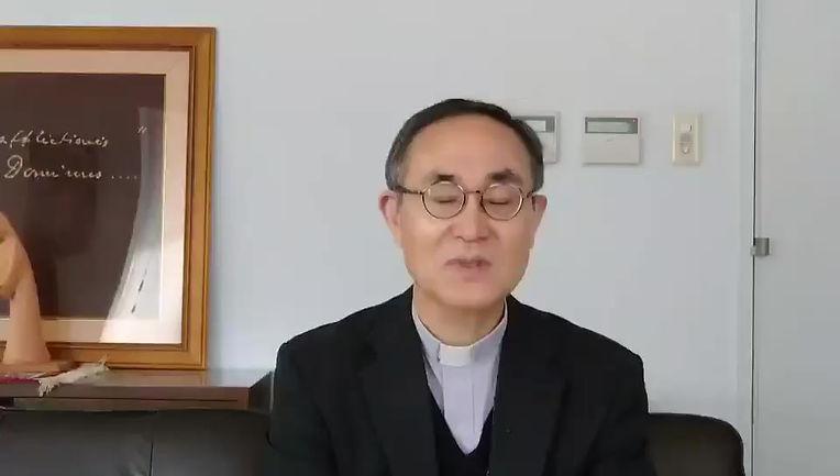 広島教区白浜司教様の応援メッセージ