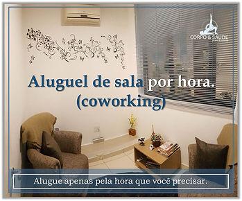 coworking, locação de sala, locação de sala em guarulhos, sala alugada, sala de psicologia, locação