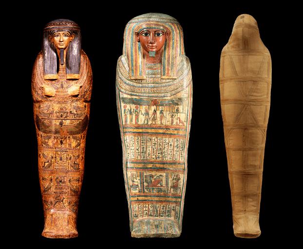ミイラのCTスキャンの研究成果が世界初公開に!「ライデン国立博物館所蔵 古代エジプト展」
