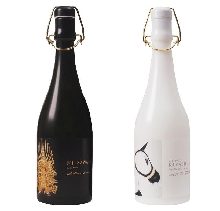 名和晃平と町田久美のラベルを冠した世界最高級の日本酒「NIIZAWA」発売