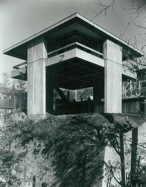 《スカイハウス》1958年 撮影:川澄明男