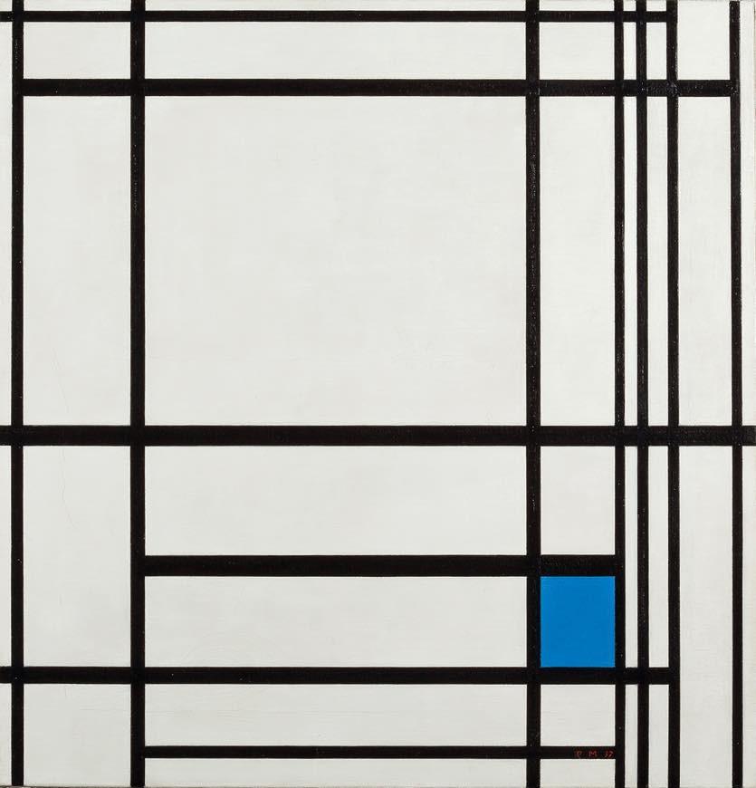 ピート・モンドリアン 《線と色のコンポジション III 》 1937年 油彩、カンヴァス デン・ハーグ美術館 Kunstmuseum Den Haag