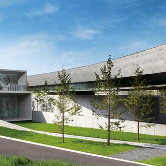 集中豪雨の被害の復旧作業を終え、ホキ美術館が約9ヶ月ぶりに8月1日リニューアルオープン決定