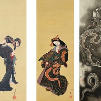 肉筆浮世絵125点が一堂に会する「筆魂 線の引力・色の魔力―又兵衛から北斎・国芳まで―」が2月9日からすみだ北斎美術館でスタート
