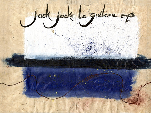 Livre-CD Jack Jacko la Guitare