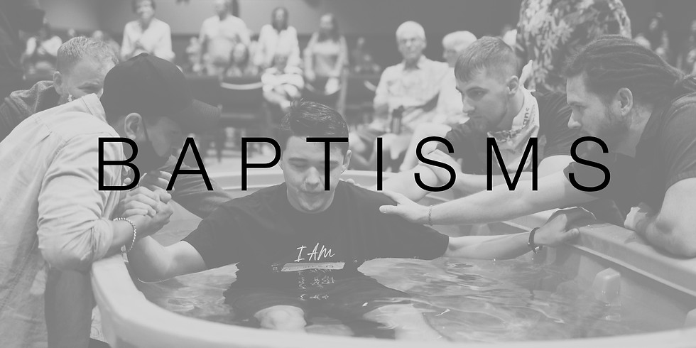 Baptism -11 AM Service
