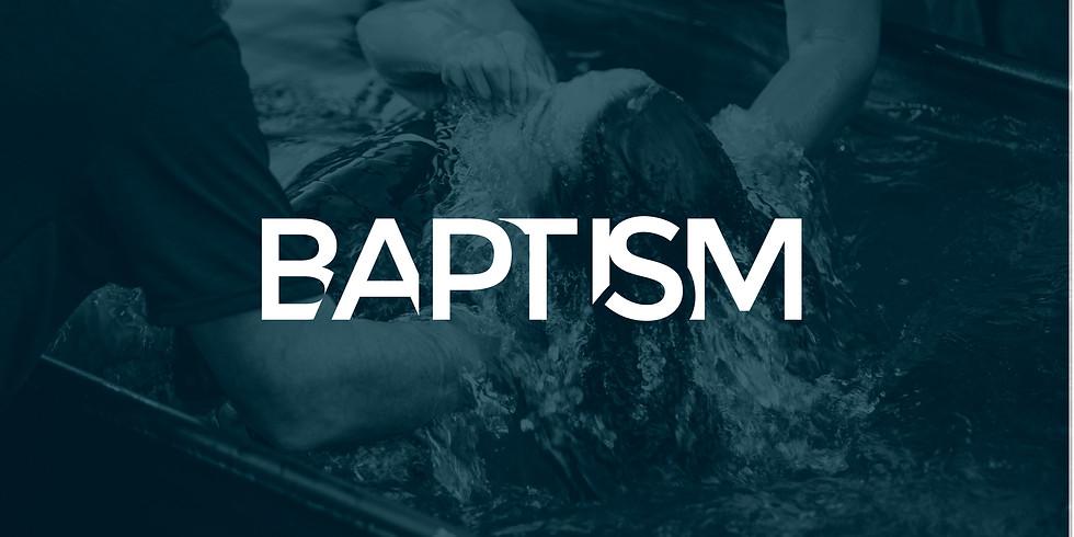 Baptism Class Nov 13 for Baptisms on Nov 17th