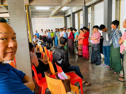 Another Update from Myanmar, Pastor Kirk Yamaguchi