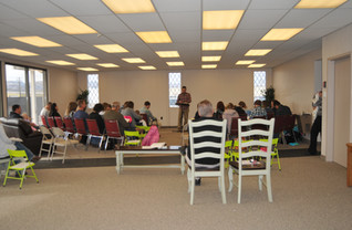 First Sunday in our new location.jpg