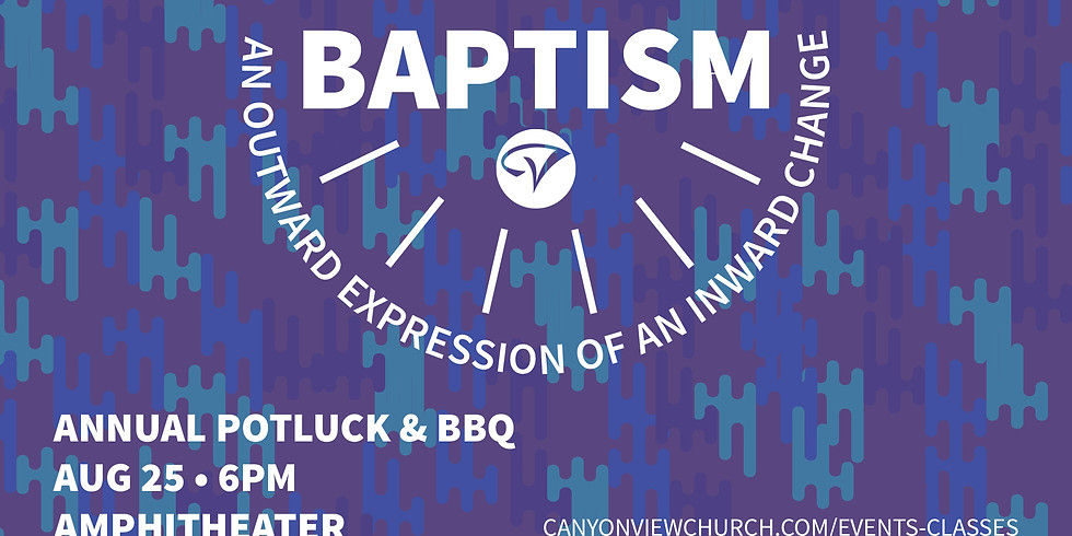Baptism @ the Annual BBQ!