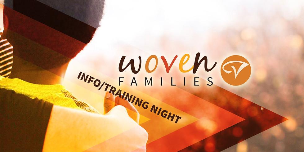 Woven Families Info/Training Night