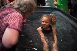 kid baptism landscape
