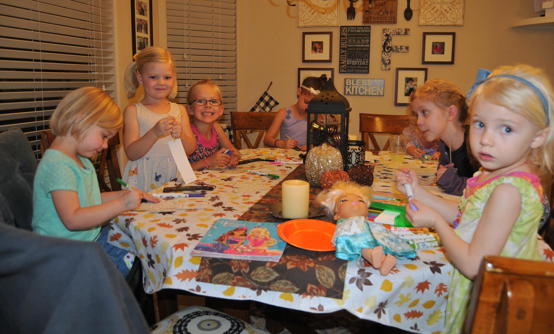 November Family Fellowship Night
