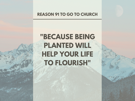 Reason #91 To Go To Church