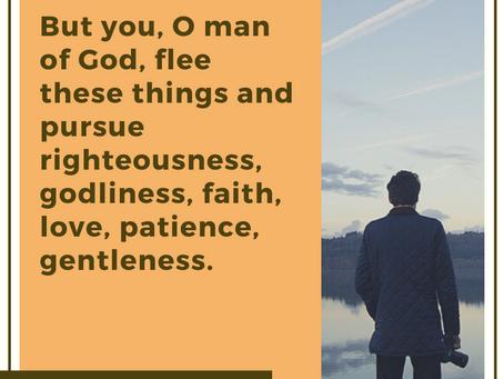 1 Timothy 6:11