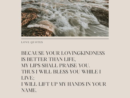 Psalm 63:3-4