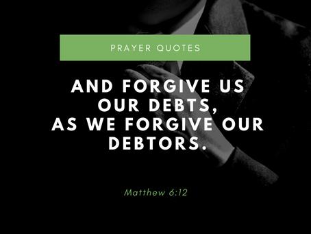 Matthew 6:12