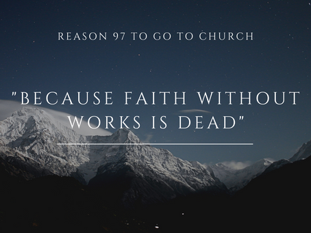 Reason #97 To Go To Church