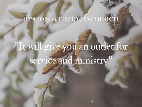 Reason #16 To Go To Church