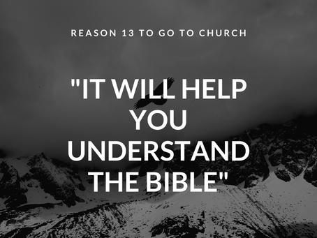 Reason #13 To Go To Church