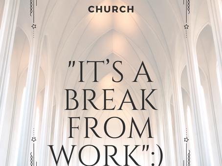 Reason #40 To Go To Church