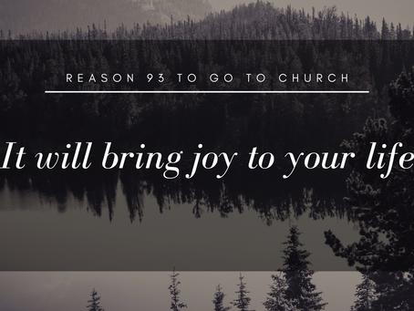 Reason #93 To Go To Church