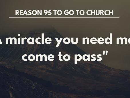 Reason #95 To Go To Church