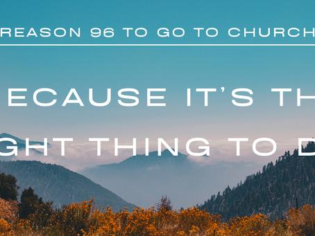 Reason #96 To Go To Church