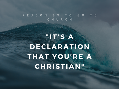 Reason #89 To Go To Church