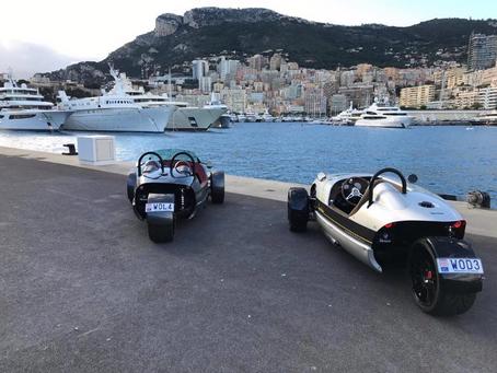 Vanderhall Venice en Speedster in Europa