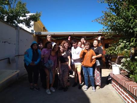 Visitamos a los abuelitos del Hogar Santa Verónica.
