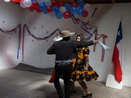 Celebración de Fiestas Patrias.
